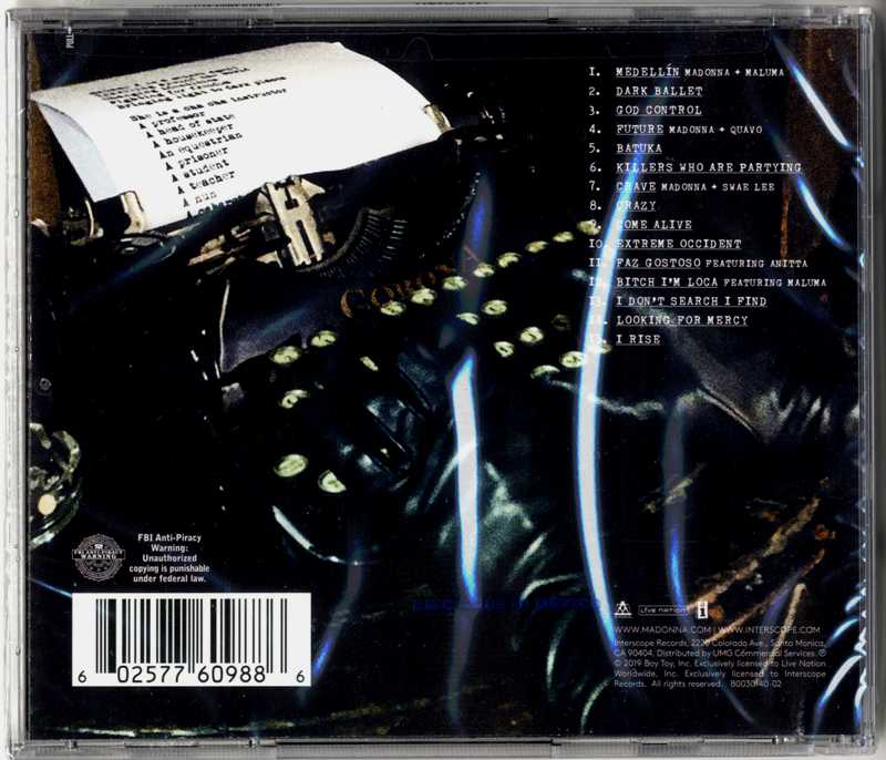 MADAME X - USA EXCLUSIVE DELUXE CD EXTRA TRACKS